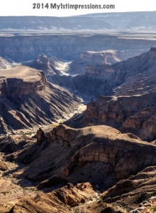 Fish River Canyon, wonder of Namibia