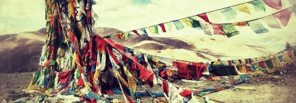 The Prayers flags of Tibet: Derek's 1st impressions!