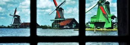 Holland: land of wind and windmills!