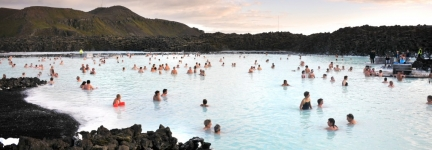 The Blue Lagoon, at night!