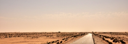 The desert, its end and Mauritania