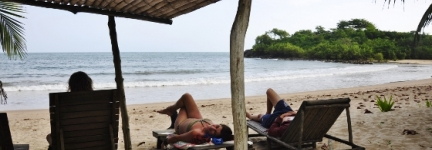 Ezile Bay, Ghana's step to paradise