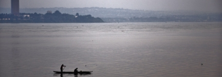 Brazzaville, capital of Congo River
