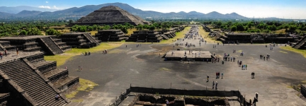Teotihuacan, a step closer to the Sun