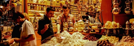 Istanbul Spice Bazaar: scents for the soul