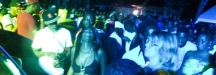 Partying with Jamaicans is not for sissies!