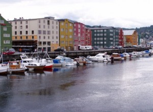 center of Trondheim