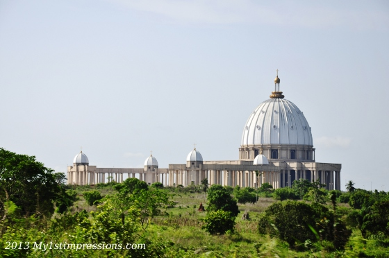 Yamoussoukrou cathedral in Ivory Coast