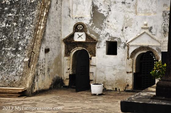 The prison cells