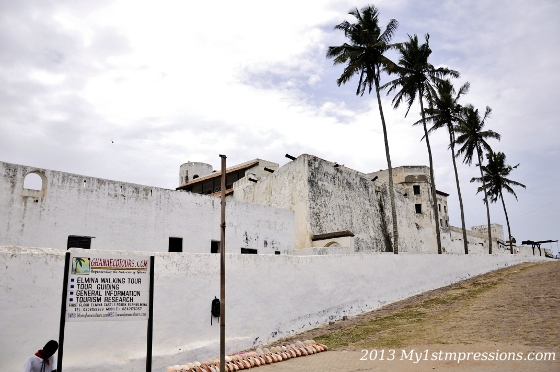 Elmina castle is the oldest of all the castles of Western Africa