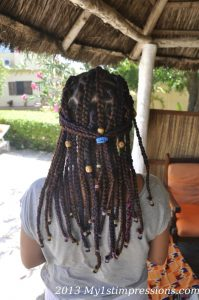 My new African hairstyle
