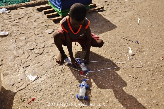 Kids of Africa: the power of imagination