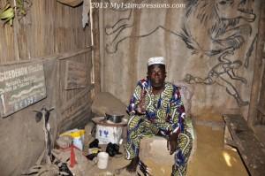Voodoo market chief