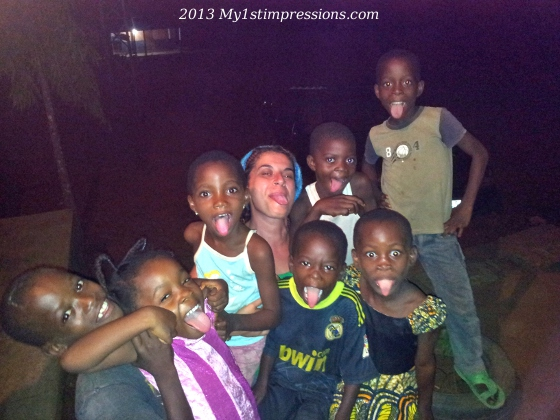 My 1st night of Cameroun