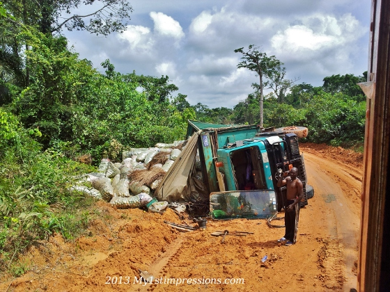 Dangers of African road