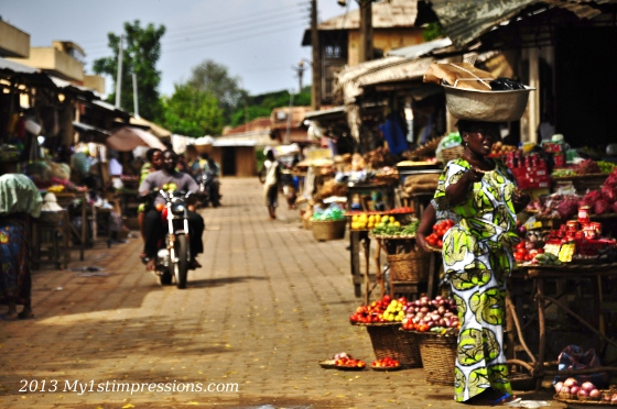 Ouidah market, today