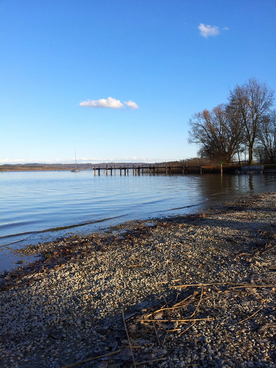 View on the German Ammersee