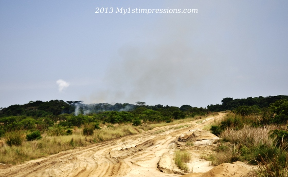 Bad roads is wat Congo is most famus about, among overlanders