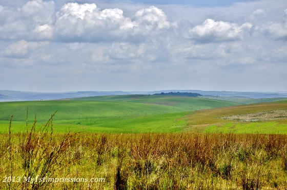 Amazing sight of Congo landscape