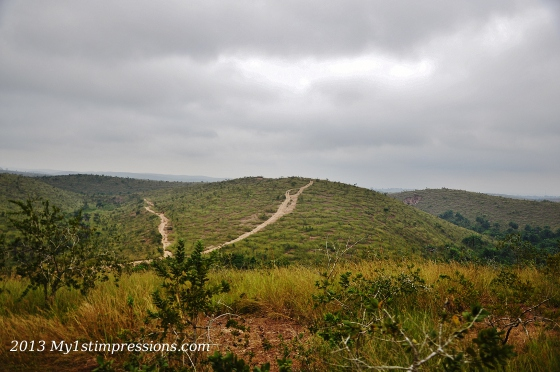 Roads on DRC mountains: which way to go?