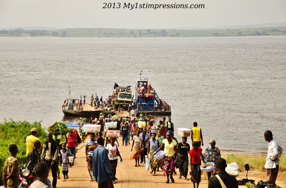 Daily life on the COngo River