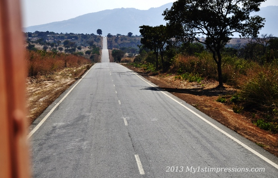 Neverending roads of ANgola