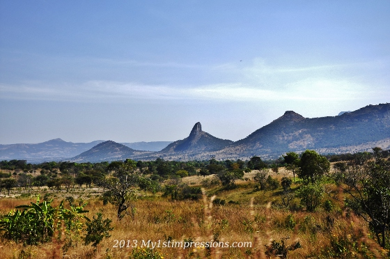 New countrry, new landscape. In Angola we said farewell to the jungle