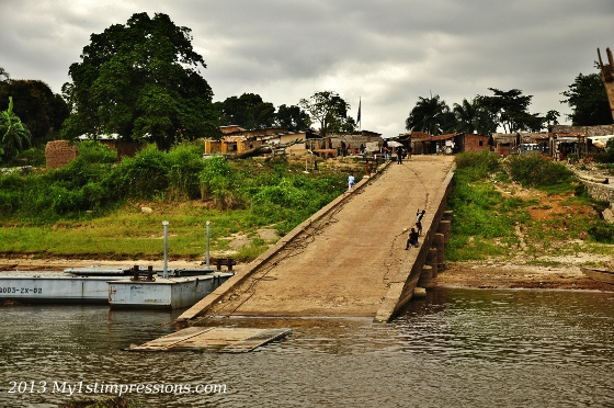 The other side of COngo River