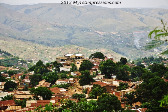 One of the hills of Matadi