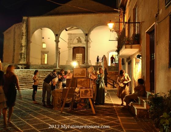 Teggiaano medieval square