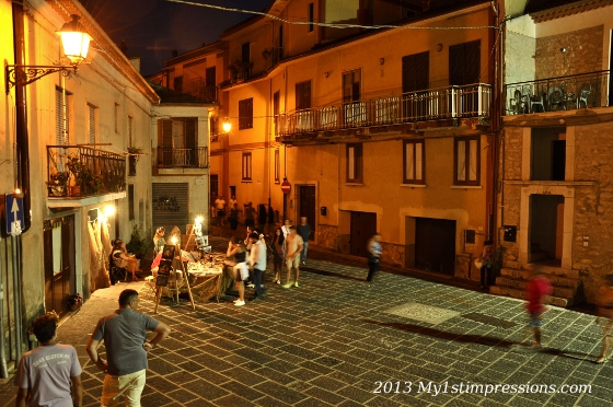 Summer nights of Italy
