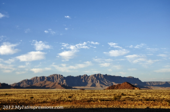 The spectacular desert of Namibia