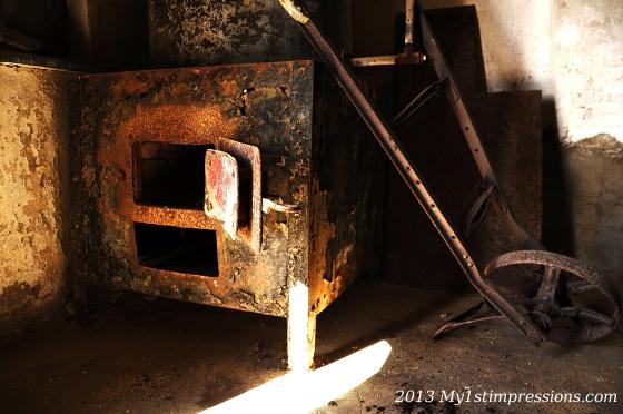 An old kitchen