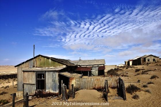 Kolmanskop, town of the desert