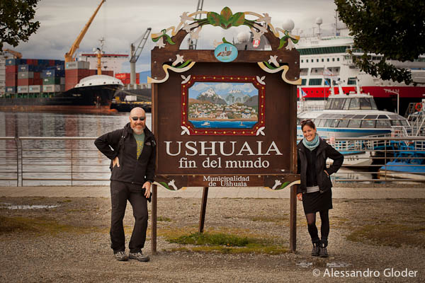 Ushuaia, Argentina: thrilled when they reached the southernmost city of the world without flying