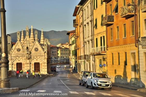 Downtown Pisa