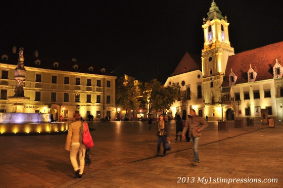 I missed the warmth of the people, in Bratislava