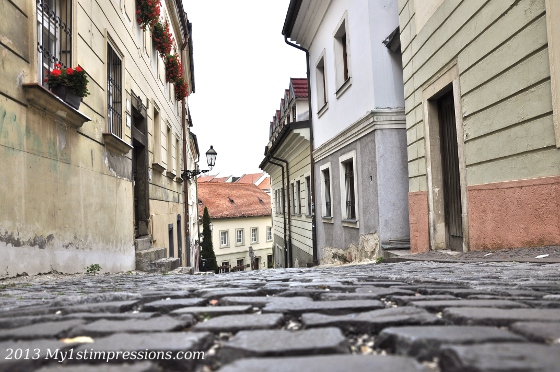 And the beauty of the old town, heritage of the past