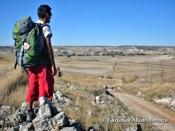 Christian though Spain to rech Santiago De Compostela