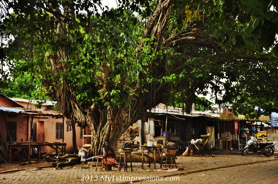 Ouidah and its life under a tree