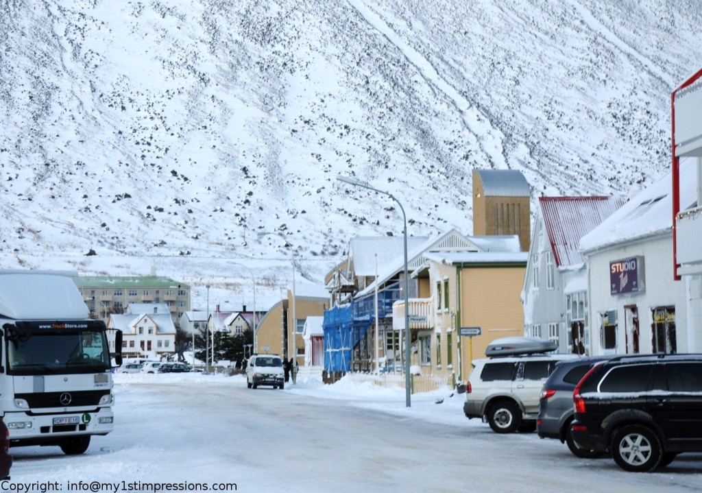 Downtown Isafjordur