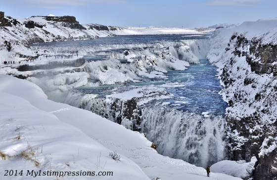 Gullfoss the mighty!