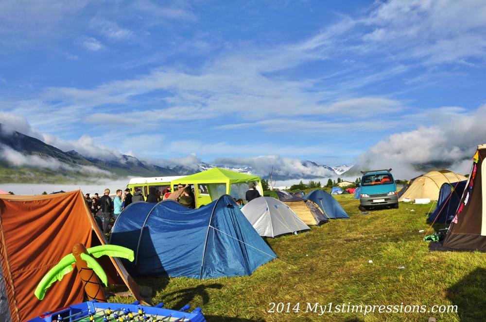 Nowhere better than this location for camping and for a festival