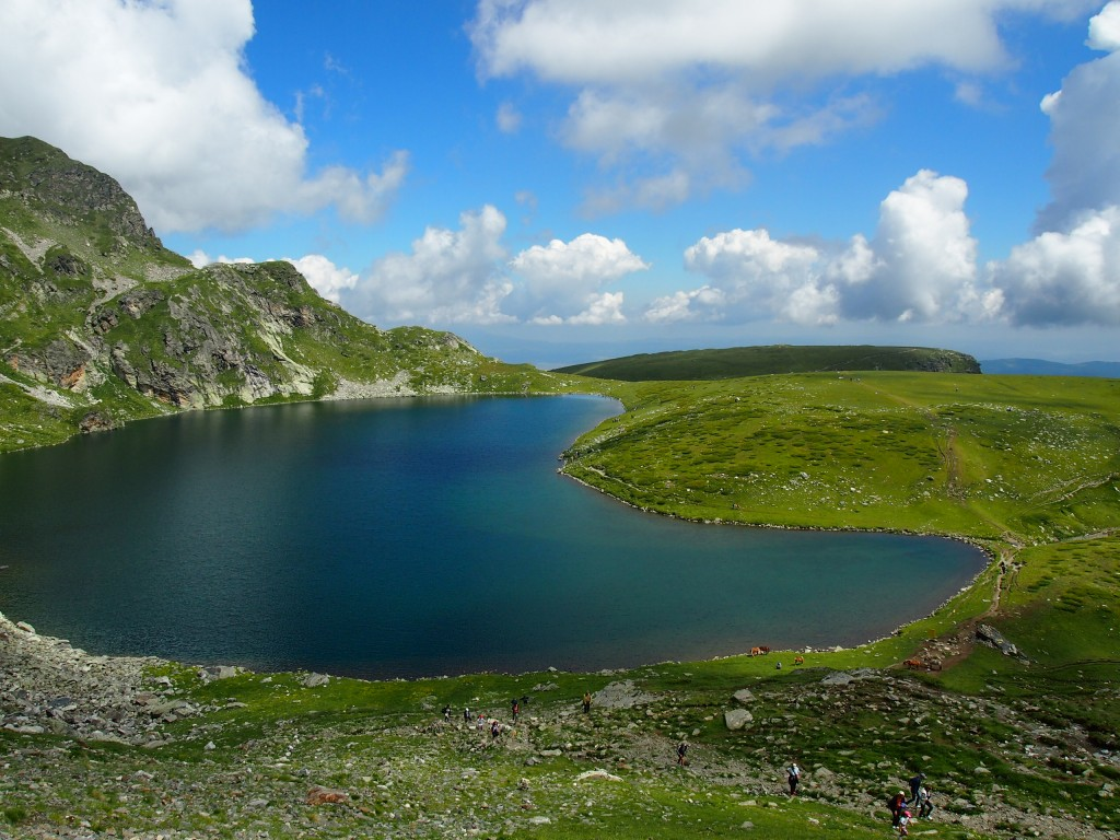One more of the seven lakes across Rila path. This place deserves to be in the list of the Unbelievable places of My1stimpressions. Don´t you think?