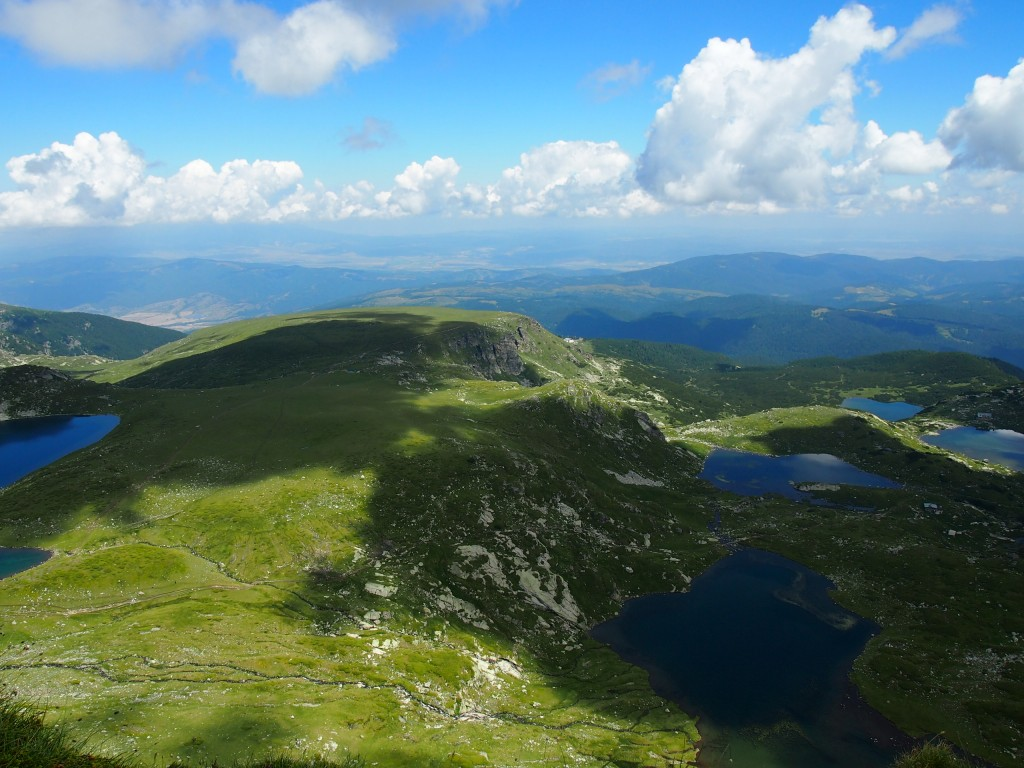View from the top. Stunning Bulgaria!