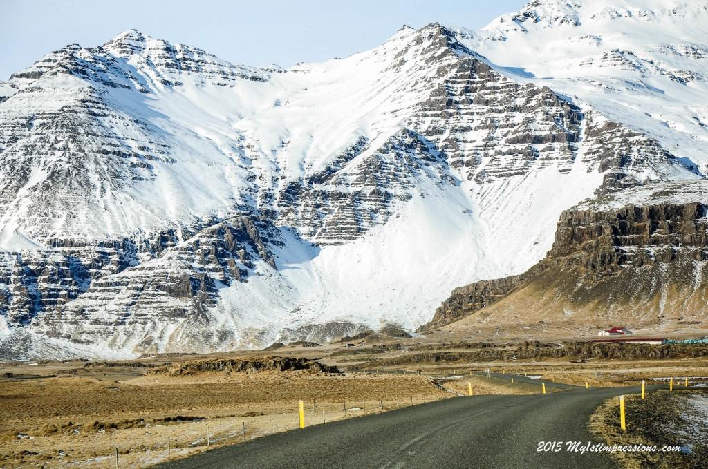 On the Ring Road, towards Vatnajokull glacier