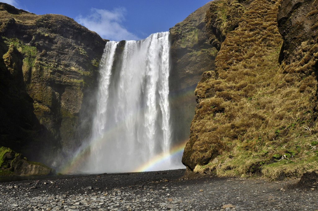 It is always a pleasure to see the waterfalls of the Iceland