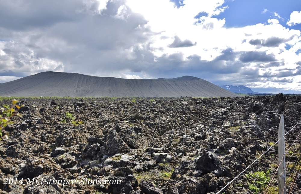 Myvatn volcanoes and lava field