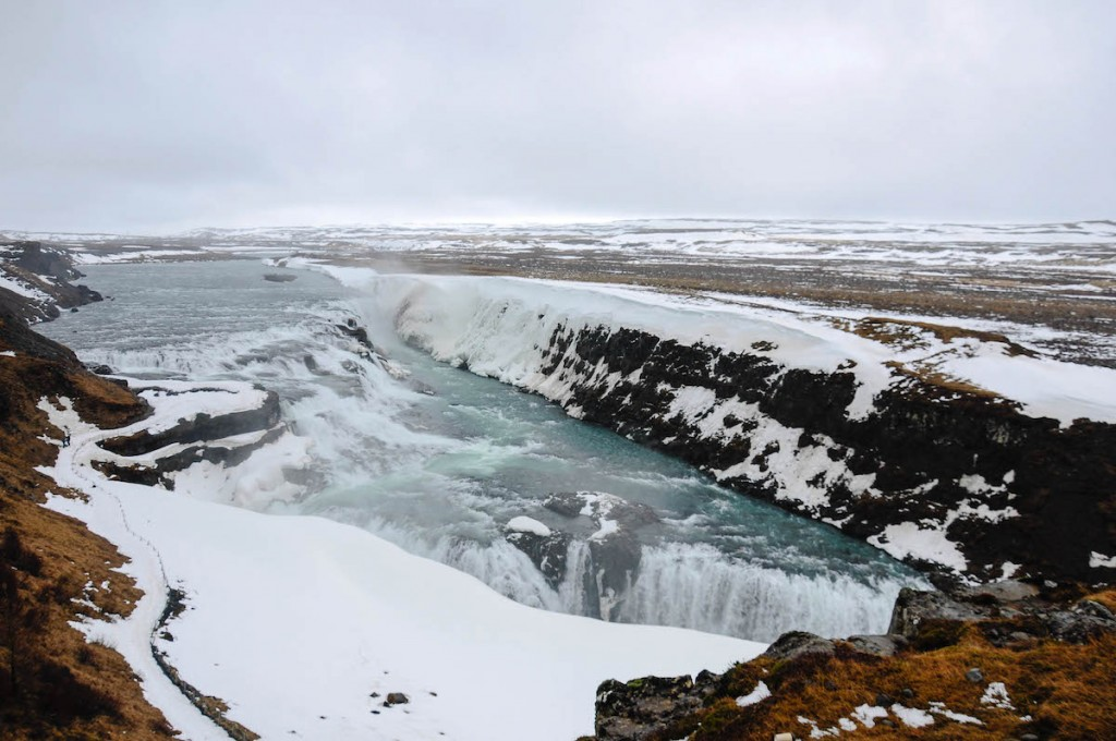 Gullfoss in the rain doesn't loose its charm