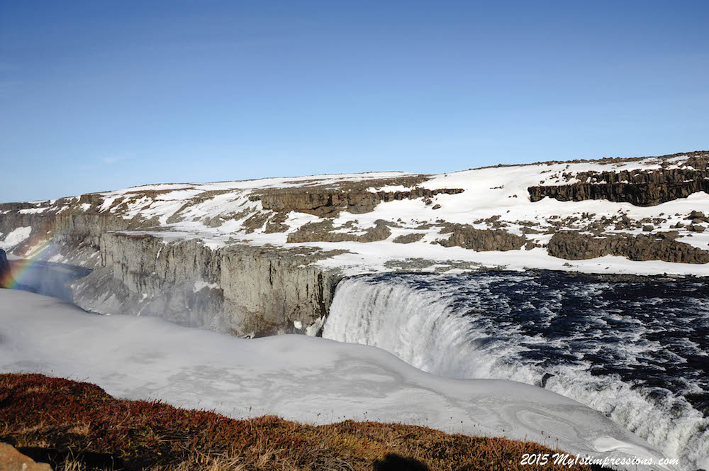 Her majesty Dettifoss, the most powerfull waterfall of Europe